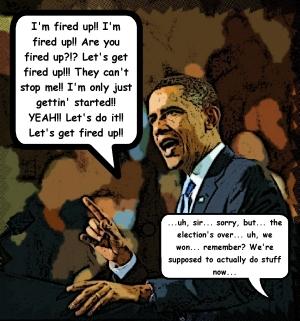 Obama Stumpin